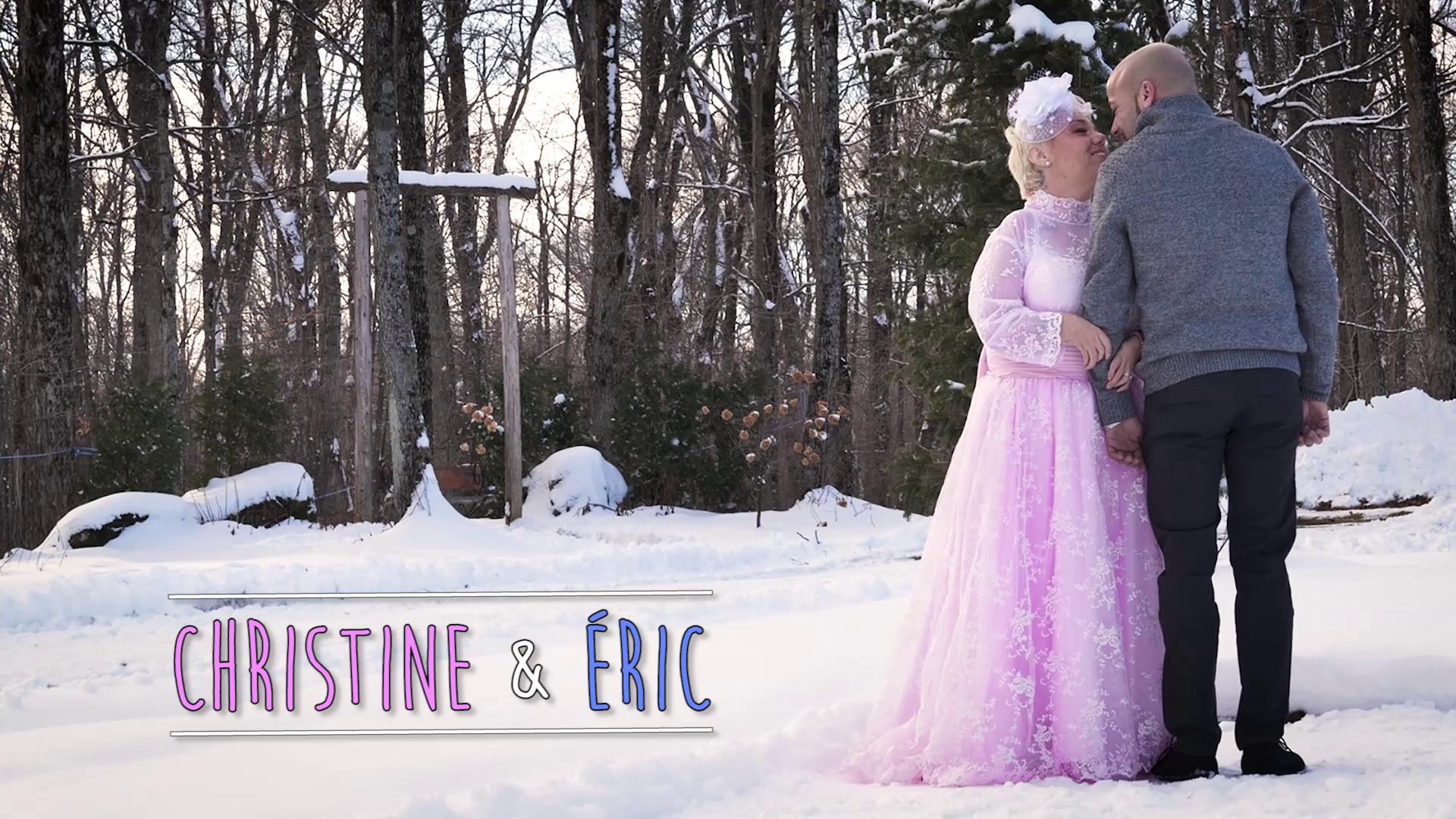 vignette mariage christine et éric